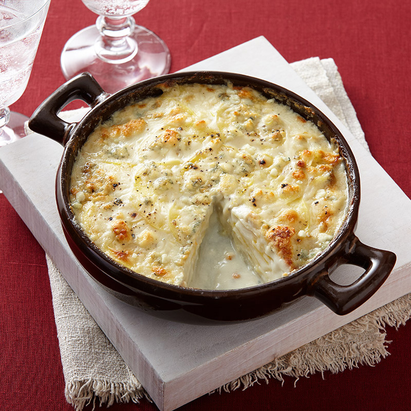 Blue Cheese Scalloped Potatoes